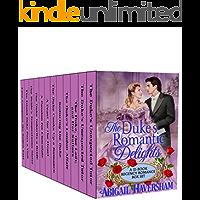 The Duke's Romantic Delights: A 12-Book Regency Romance Box Set (Regency Romance)