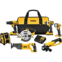 Deals on DeWalt DCK720D2R 20V MAX Compact 7-Pcs Tool Combo KIt
