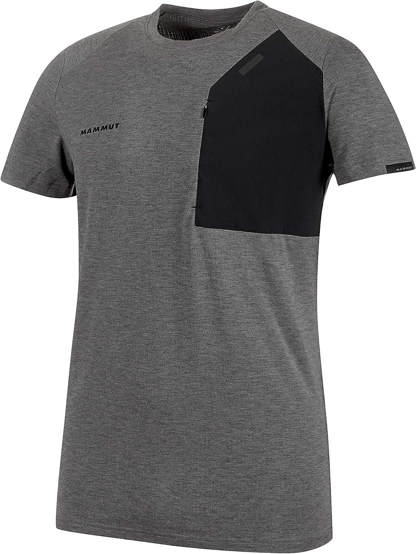 Mammut Crashiano Camiseta, Negro Mélange-Negro, Small para Hombre ...