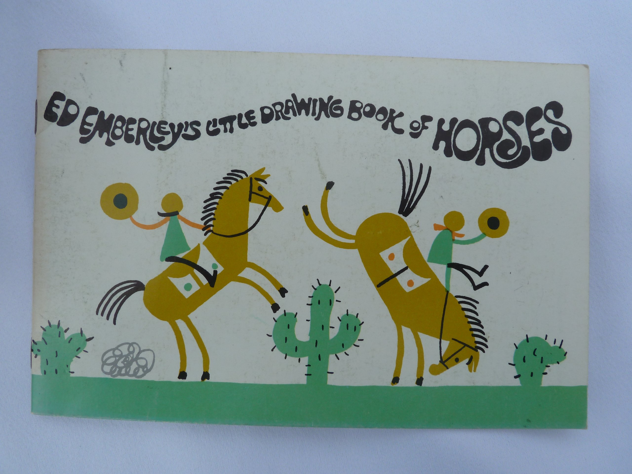 Ed Emberley's Little Drawing Book of Horses