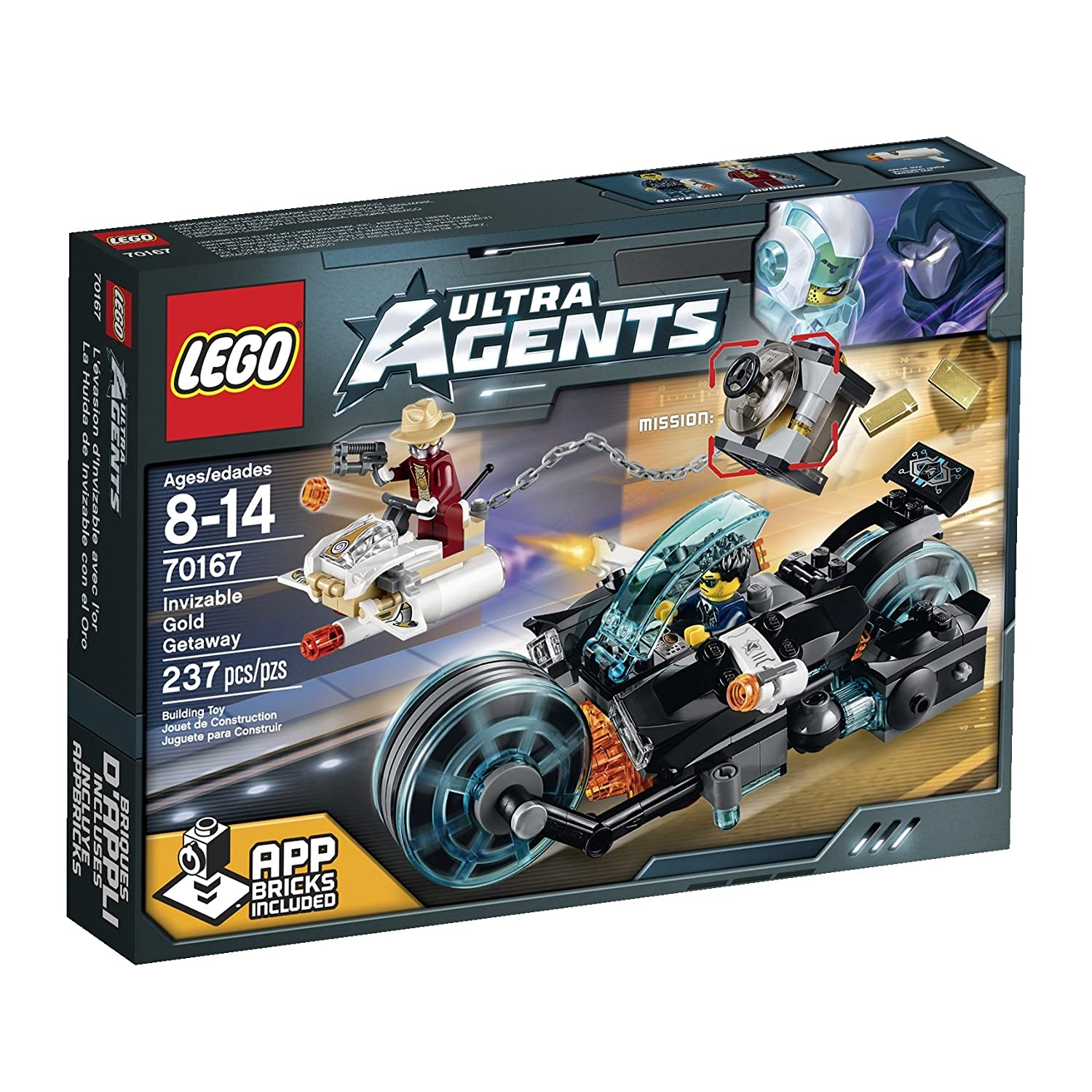 LEGO Ultra Agents Invizable Gold Getaway Toy by LEGO Ultra Agents