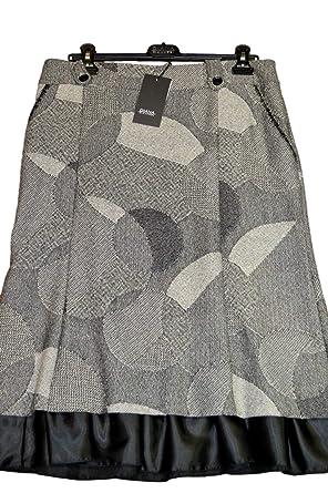 DIANA GALLESI - Falda para mujer, talla 42 Fantasía con balanza de ...