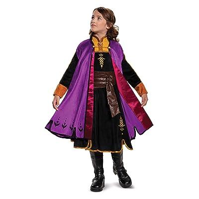 Disguise Disney Anna Frozen 2 Prestige Girls' Halloween Costume: Toys & Games