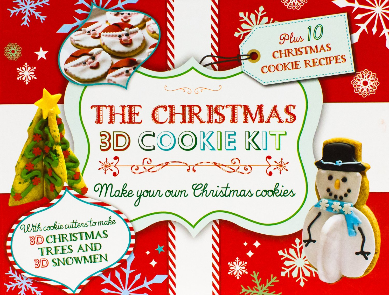 The Christmas 3d Cookie Kit Parragon Books 9781472352354 Books