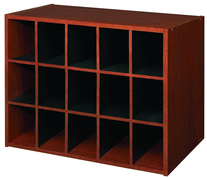 Amazon.com: ClosetMaid 892800 15 Cube Laminate Shoe Organizer, Cherry: Home  U0026 Kitchen