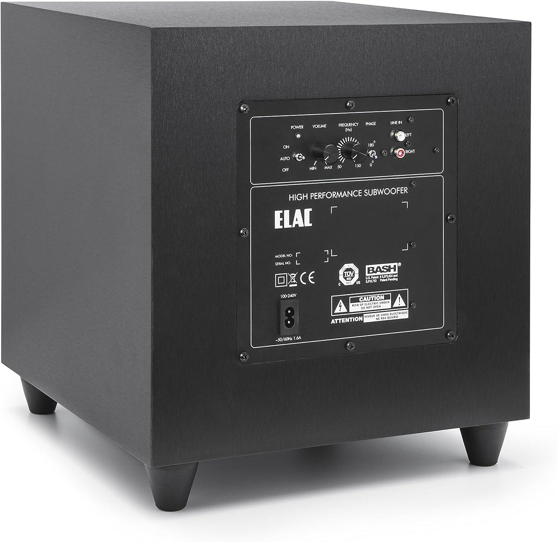 Andrew Jones ELAC S10 Debut Series - Subwoofer (200 W): Amazon.es: Electrónica