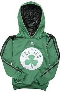 cheaper daea6 13031 adidas Boston Celtics NBA Big Boys On Court Hoodie - Green