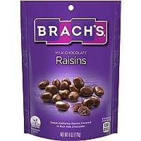 Brach's Milk Chocolate Raisins, 6 Ounce, Pack of 8