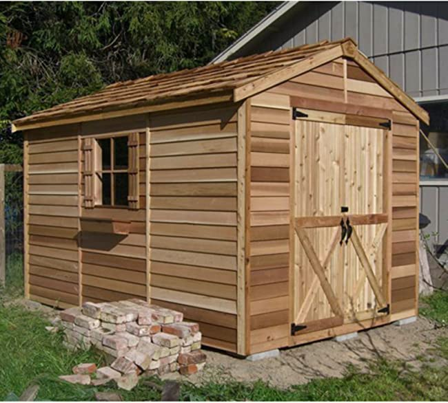 8 x 12 ft. Rancher Storage Shed
