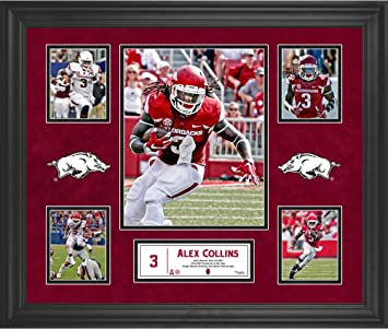 Alex Collins Arkansas Razorbacks Framed 20