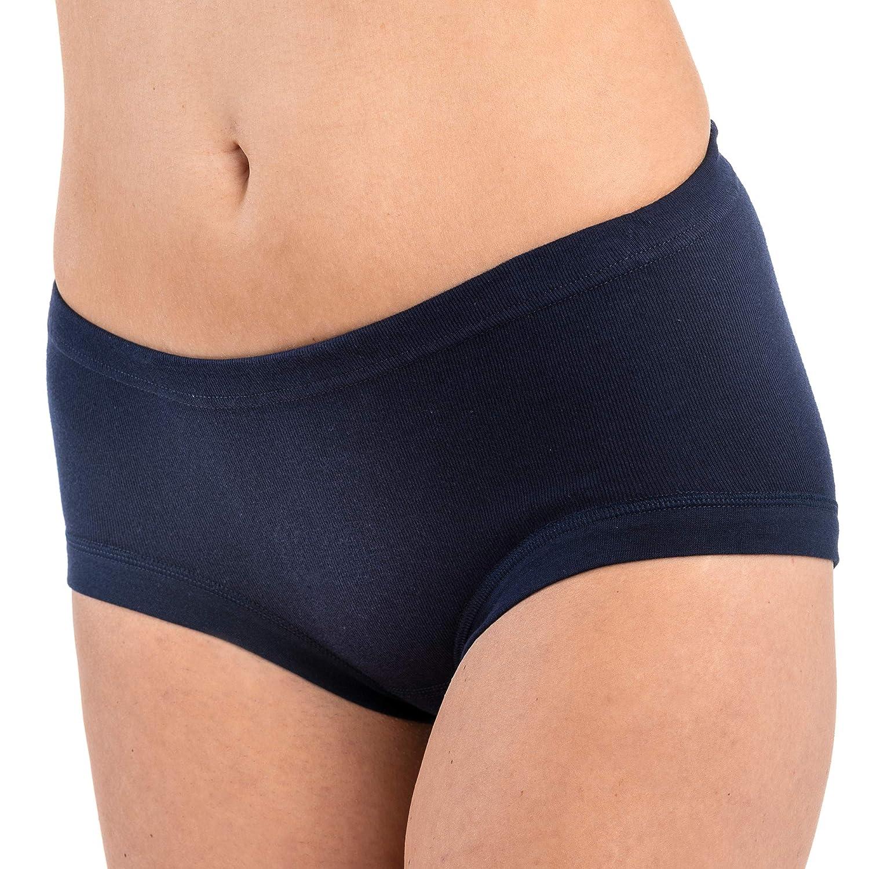 Hermko 9114001 pack of 3 women's waist slip, made from 100% cotton.