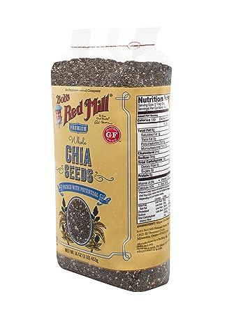 Bobs Red Mill Semillas de Chia: Amazon.com: Grocery ...