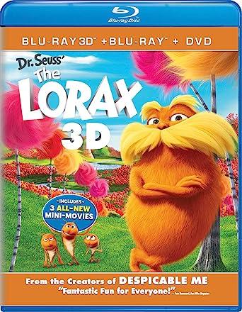 dr seuss the lorax blu ray