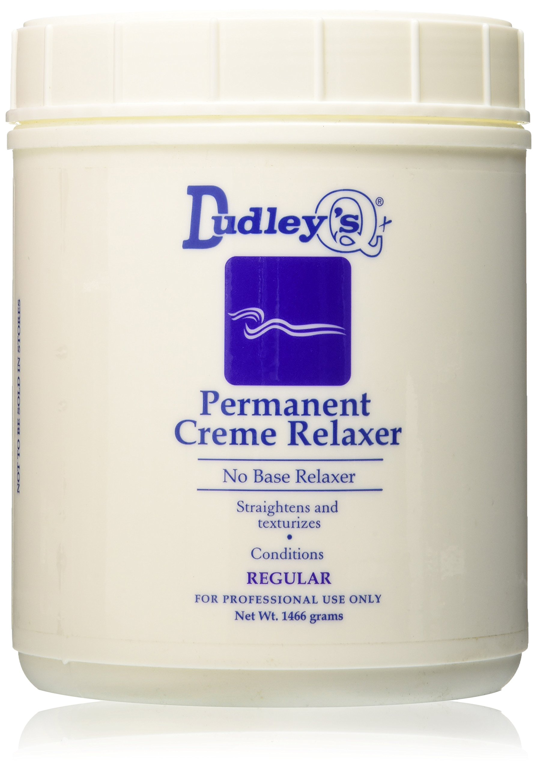 Dudley's No Base Regular Permanent Creme Relaxer, 52 Ounce