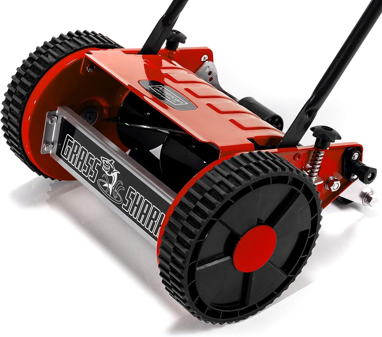 Red American Lawn Mower Company 101-08 Grass Shark 8-Inch 5-Blade ...