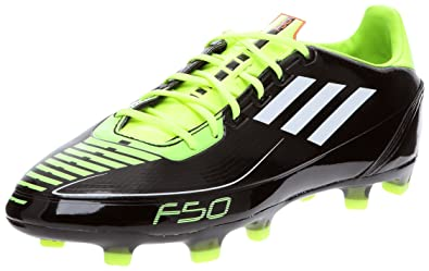 separation shoes 175a3 bab07 adidas F30 TRX FG, Chaussures football homme, NoirBlancJaune, 44