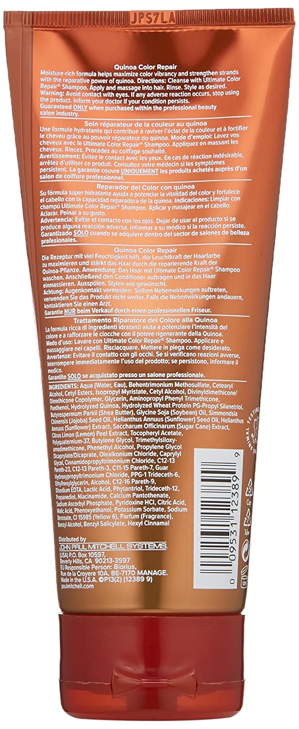 Amazon.com: Paul Mitchell Ultimate Color Repair Conditioner,2.5 Fl Oz: Luxury Beauty