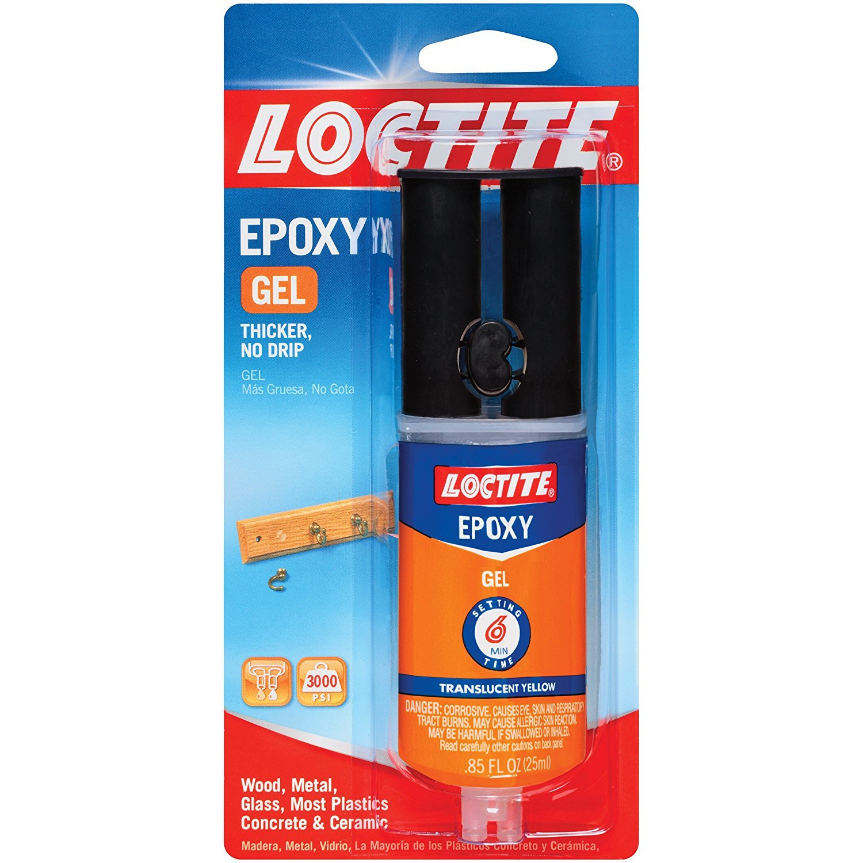 Loctite Epoxy Gel 0.85-Fluid Ounce Syringe (1405602)