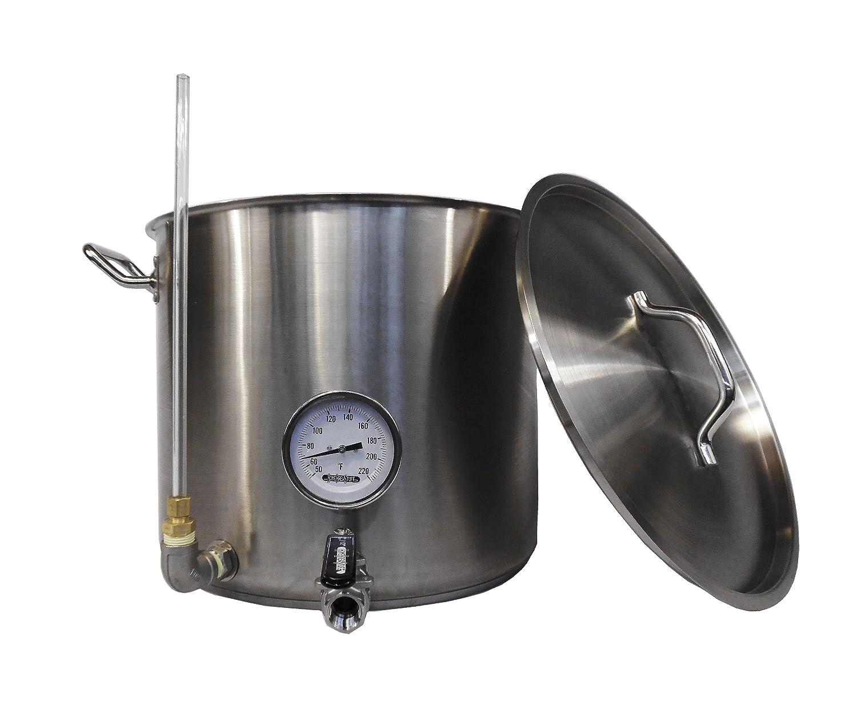 Amazon.com: homebrewstuff 15 Galón Hervidor de agua Hot de ...