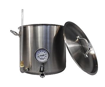 homebrewstuff 15 Gallon depósito de hervidor de agua ...