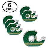 """Wellwood 6 Pack 3/4"""" x 1000"""" Invisible Tape/Write"""