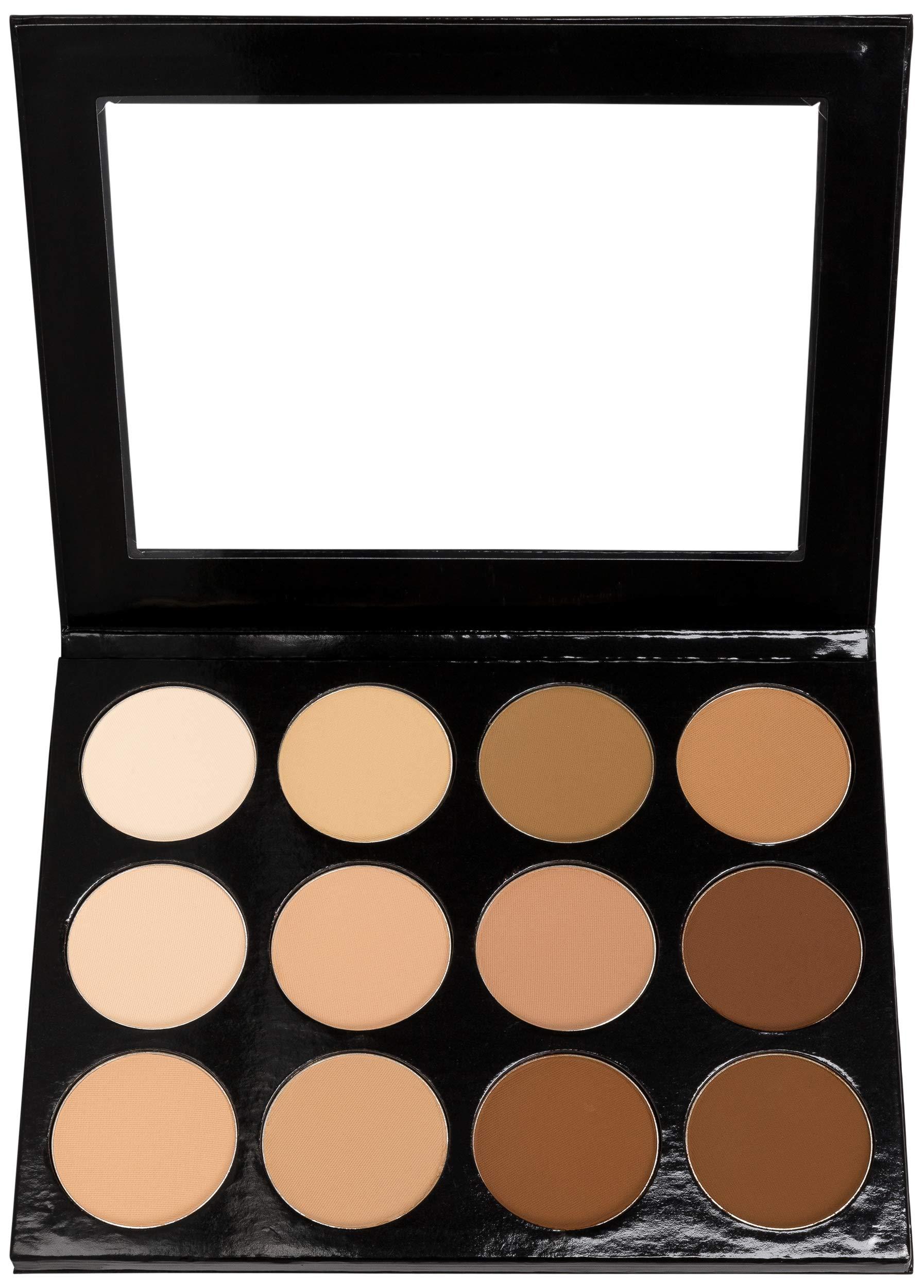 Mehron Makeup Celebré Pro-HD Pressed Powder, Contour & Highlight Palette by Mehron (Image #1)