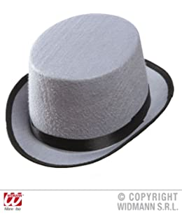 1b4f9433c05 Top Felt Child Size - Grey Felt Top Hats Caps   Headwear for Fancy Dress  Costumes