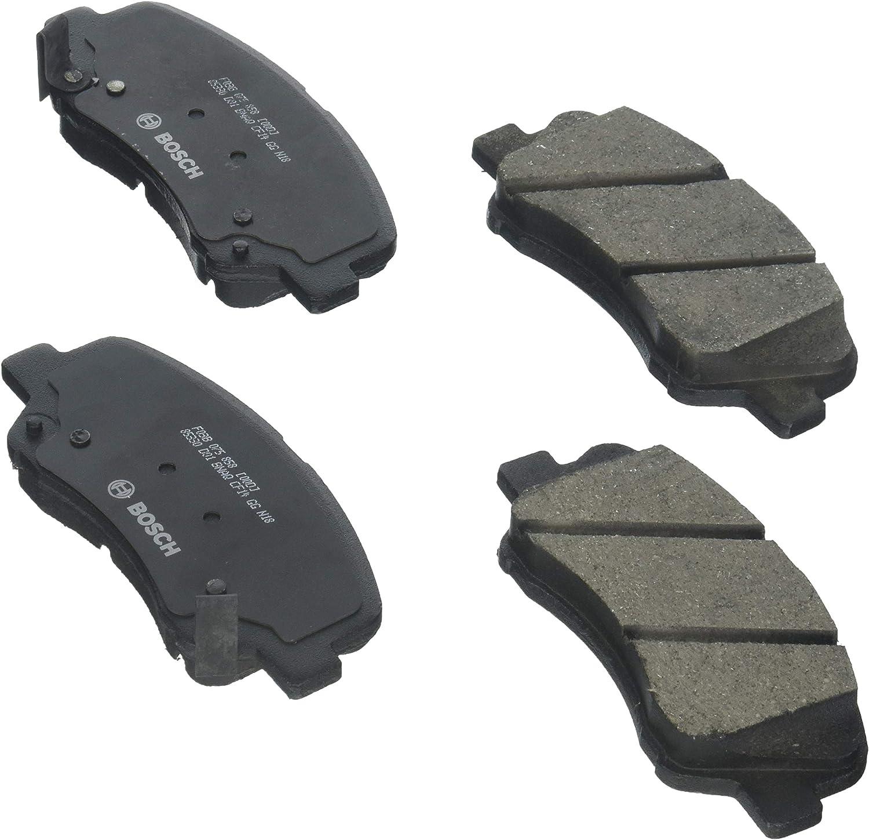 Front And Rear Ceramic Brakes For 2012-2017 Hyundai Accent Kia Rio