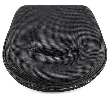 DURAGADGET Estuche/Carcasa Negra para Los Auriculares JVC HA160 | Noontec Hammo Go | Sennheiser RS 160 - Diseño Ergonómico
