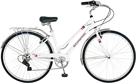 Schwinn Wayfarer 700c Bicicleta híbrida para mujer: Amazon.es ...