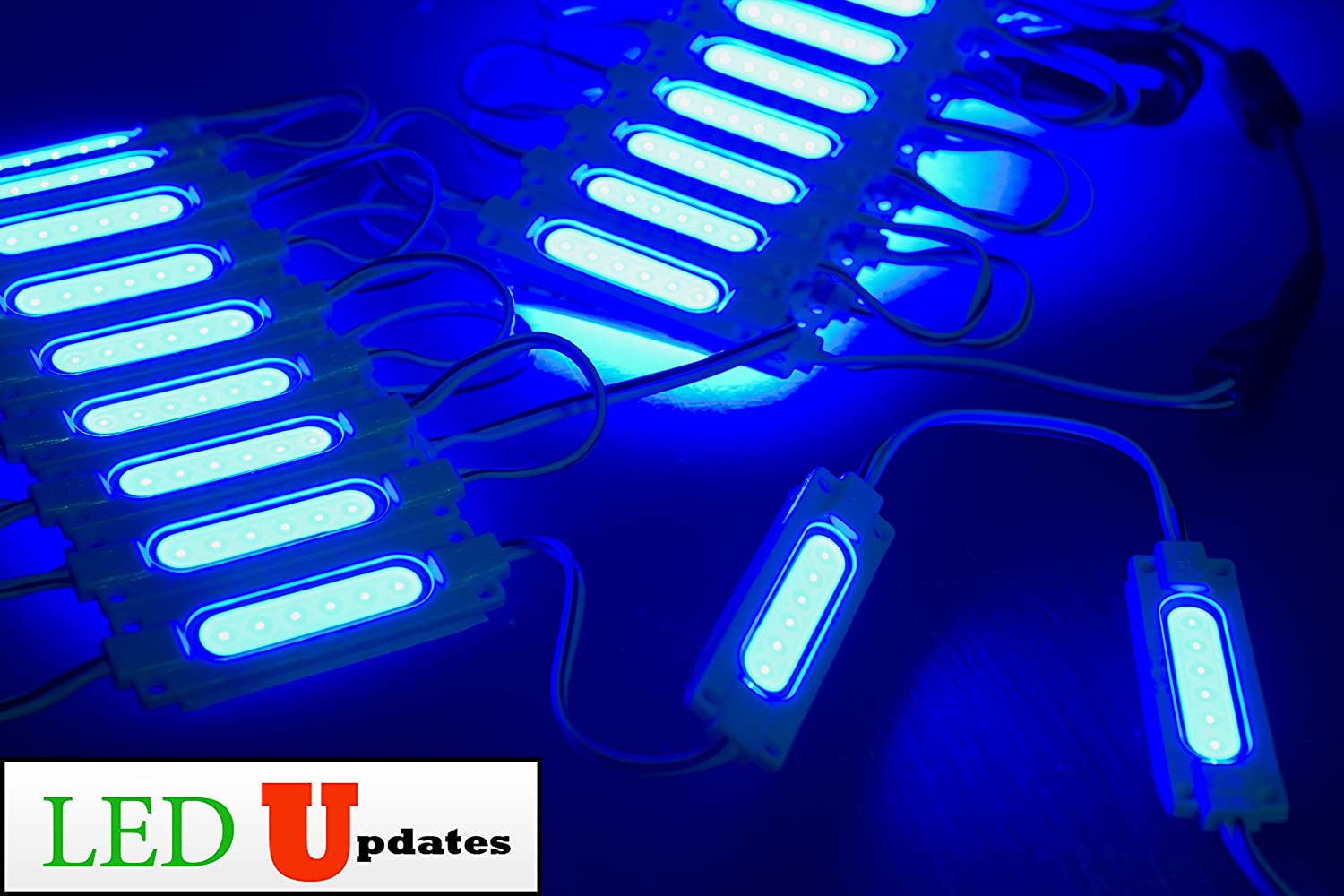40ft, White LEDUPDATES BRIGHTEST STOREFRONT WINDOW LED LIGHT COB WITH UL POWER SUPPLY BRIGHTER THAN 5050 5630 5730 2835