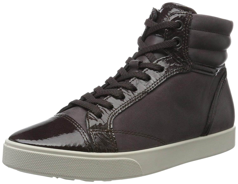 Ecco Braun Damen Gillian Hohe Sneaker Braun Ecco (Shale/Shale) 9f137e