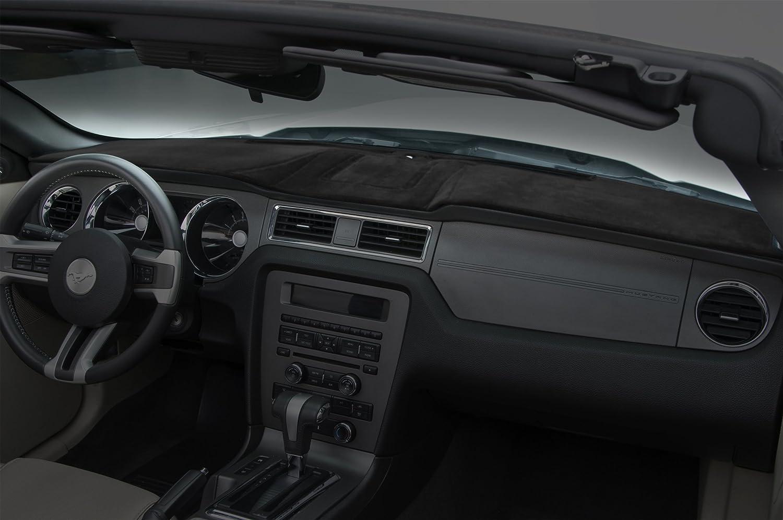 Coverking Custom Fit Dashboard Cover for Select Kia Optima Models - Velour (Black)