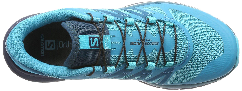 Salomon Sense Ride Running Shoe - Women's Blue Bird/Deep Lagoon/Navy Blazer 7 by Salomon (Image #12)