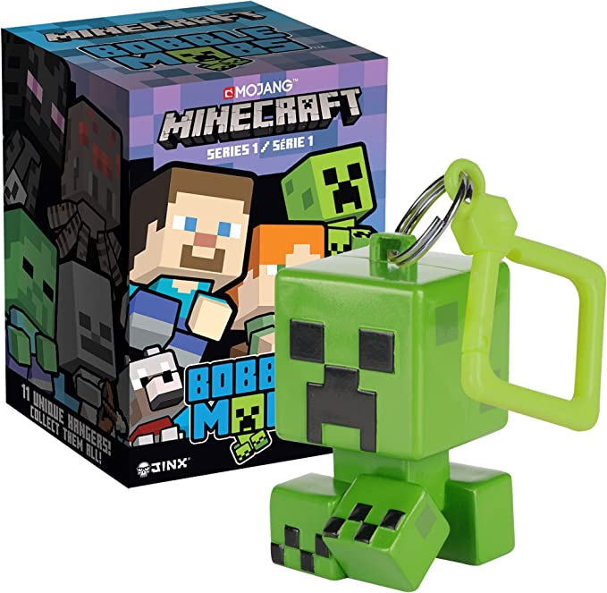 "Minecraft Bobble Mobs Hangers KeyChain Series 1 YOUR PICK FAST/""FREE US"