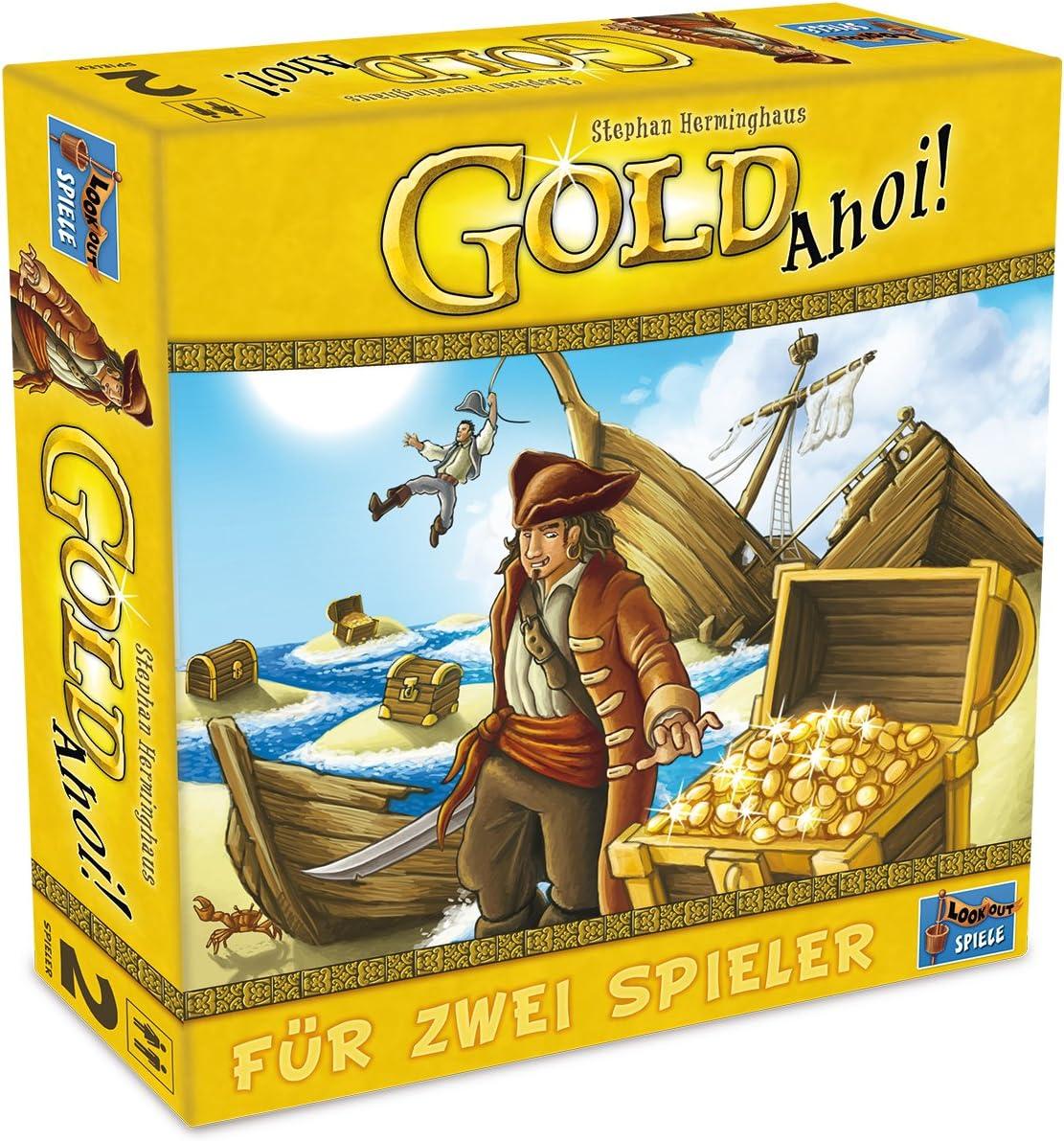 Lookout Games 22160073 - Gold Ahoy Juegos: Amazon.es: Juguetes y juegos