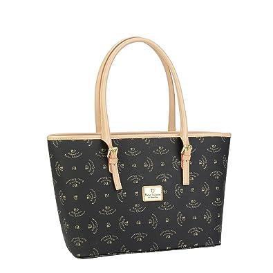 Original sac à main imprimé walter valentino w5084 40 x 20 x 15 cm-beige (cognac, sac à main, sac bandoulière