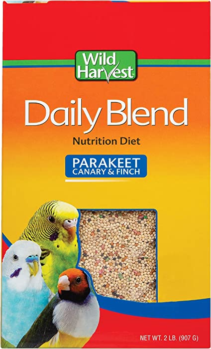 The Best Wild Harvest Daily Blend Parakeet Food