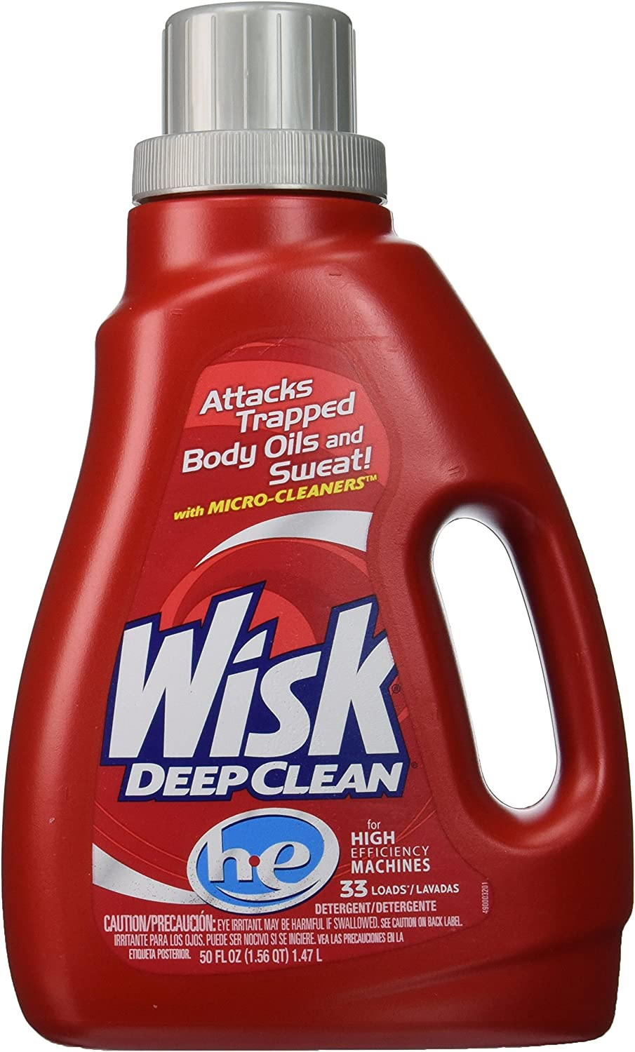 Wisk Deep Clean Detergent - 33 Loads
