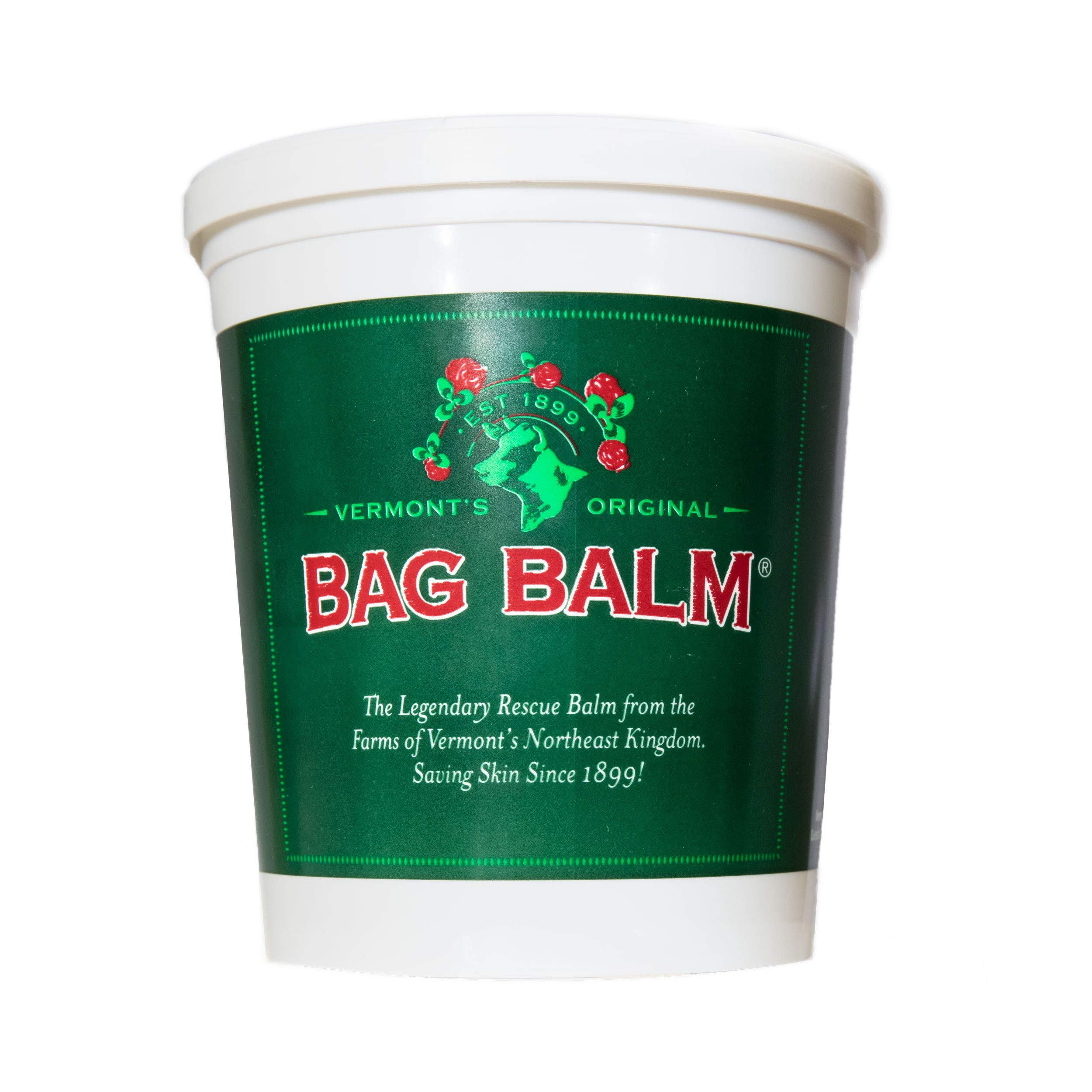 Bag Balm Vermont's Original 4.5 Pound Pail (72 Ounces) for Cracked Hands, Dry Skin, Moisturizing Lotion Salve by Bag Balm