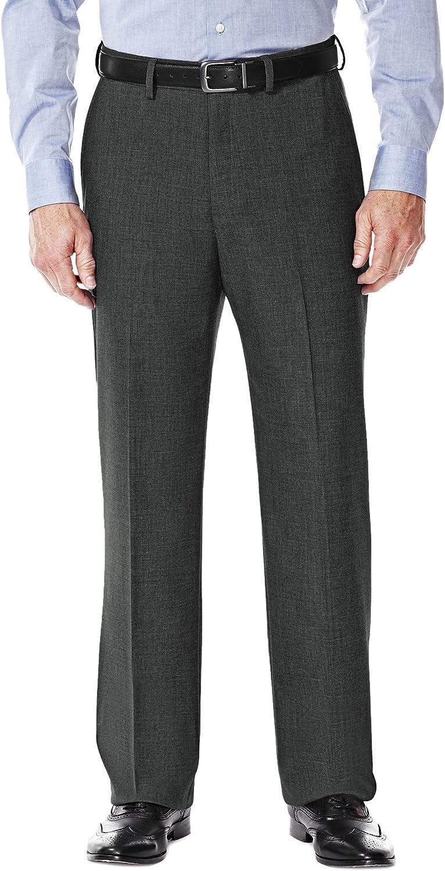 Haggar Men's J.M. Premium Stretch Suit Pant - Flat Front