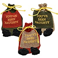 Gift Boutique Christmas Bag of Coal in a Drawstring Bag You've Been Naughty for...
