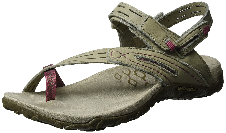 Merrell Women's Terran Convertible II Sandal B01HHHZ1AM 6 B(M) US|Taupe/Hawthorn