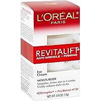 Eye Cream with Pro Retinol, L'Oreal Paris Skincare Revitalift Anti-Wrinkle and Firming Eye Cream Treatment to Reduce…