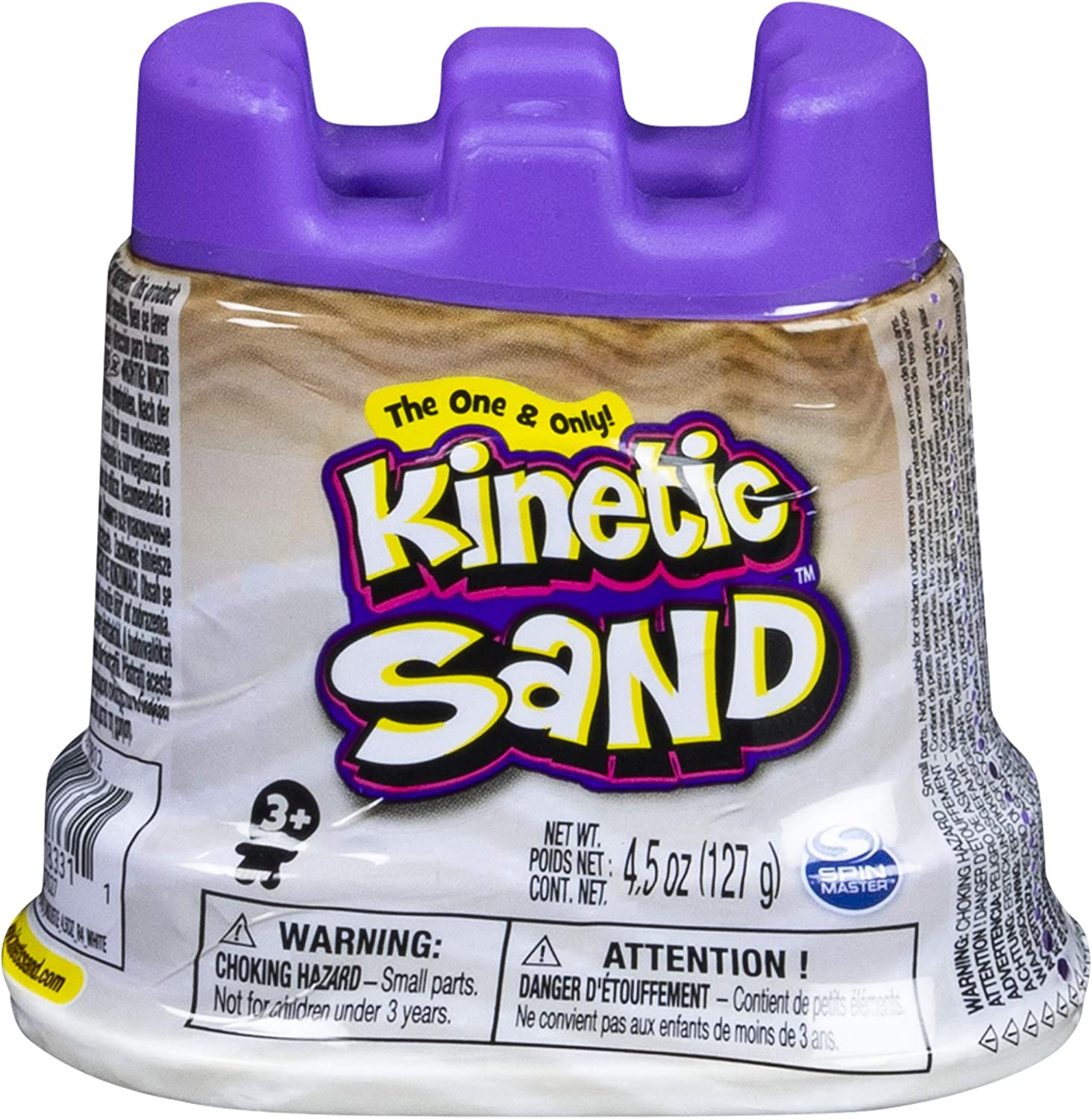 Kinetic Sand - Single Container - 4.5oz - White