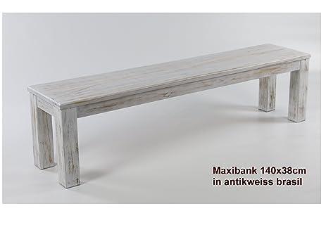 Amazon.com - Massivholzmöbel Kuckuck Bench 140 X 38 Cm Tonal Antique ...