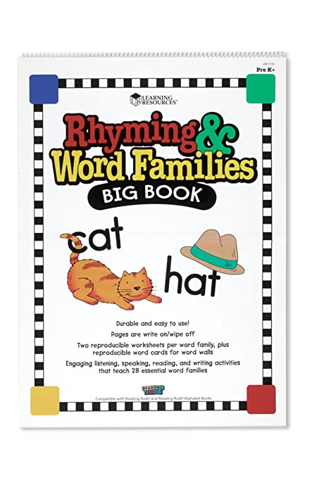Amazon.com : Learning Resources Rhyming And Word Families Big Book ...