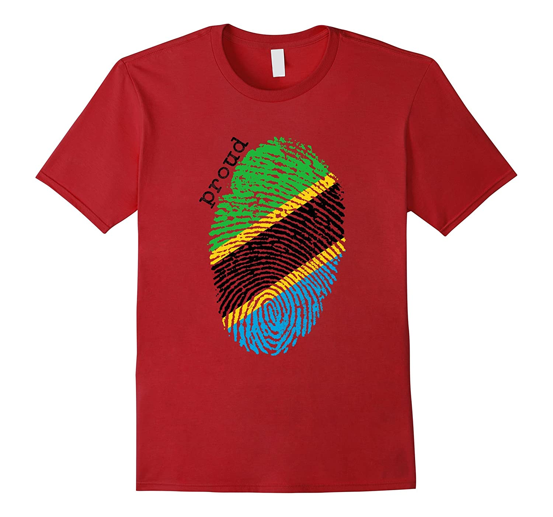 Tanzania Flag Shirt-TD
