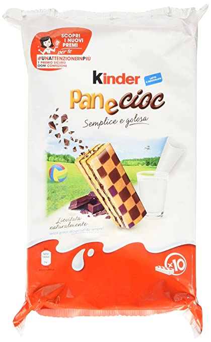6 opinioni per Kinder Pan E Cioc Gr.300
