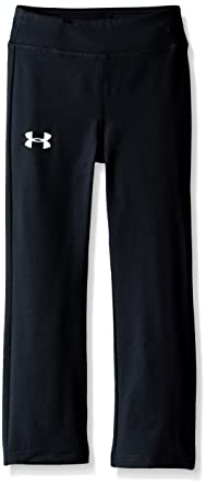 under armour pants for girls. under armour little girls\u0027 toddler yoga pant, black, pants for girls ,